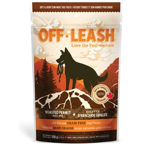 Complete Natural Nutrition Off Leash Mini Trainers Roasted Peanut