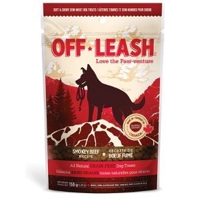 Complete Natural Nutrition Off Leash Mini Trainers Smokey Beef