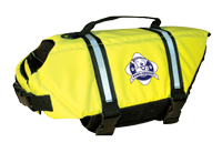 Paws Aboard Doggy Life Jacket Yellow sm
