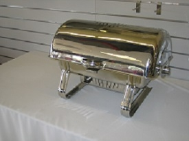 8 Qt Full Pan Rolltop Chafer