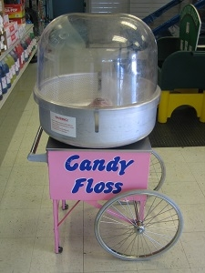 Gold Medal Cotton Candy Machine With Cart