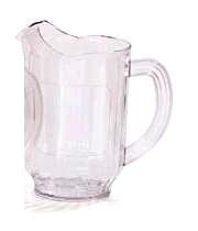 Clear Plastic Pitcher 60oz Capacity