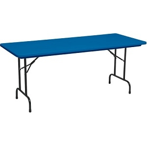 6' Blue Kids Table