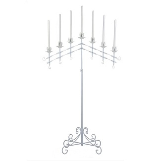 7 Branch Adjustable Candelabra