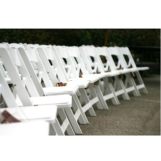 Resin Style White Classic Event Chair