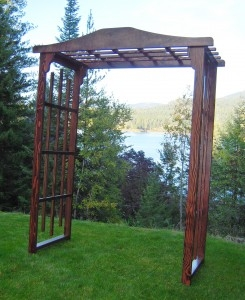 Cape Winds Wooden Arch