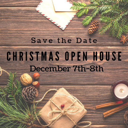 *Save the Date* Christmas Open House