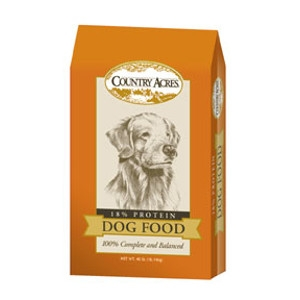 Country Acres 18% Dog Food