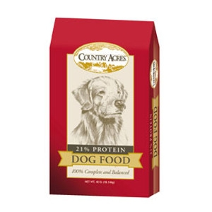 Country Acres 21% Dog Food