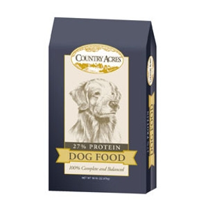 Country Acres 27% Dog Food