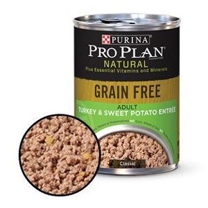 Purina Pro Plan Grain Free Adult Turkey & Sweet Potato Entree