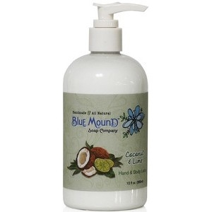 Coconut & Lime All Natural Hand and Body Lotion