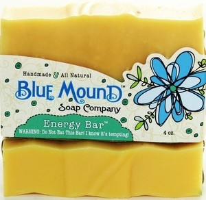 Energy Bar Homemade Bar Soap