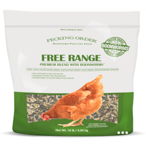 Pecking Order- Boonworm Free Range & Scratch with Boonworm