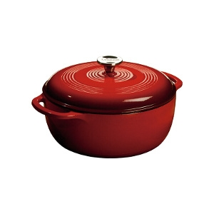 6 Quart Red Dutch Oven