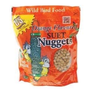 C & S Orange Flavored Suet Nuggets