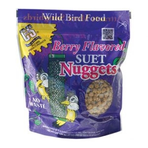 C & S Berry Flavored Suet Nuggets