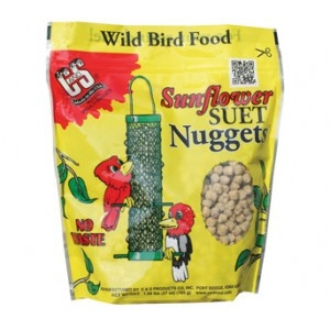 C & S Sunflower Suet Nuggets