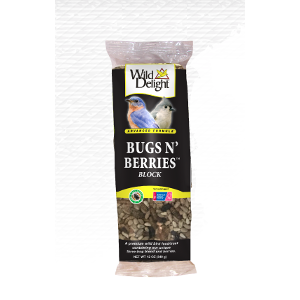 Wild Delight Bugs N' Berries Suet Block