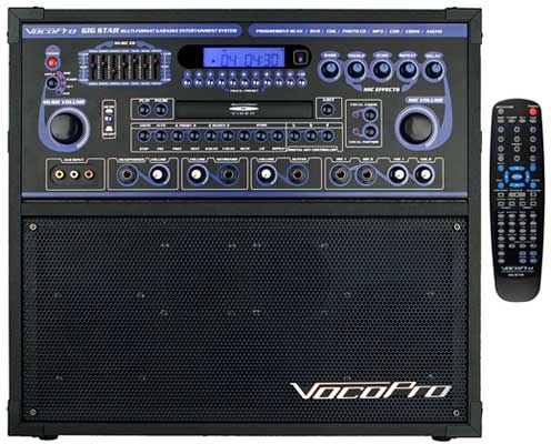 Karaoke Machine-Vocopro Gig-star