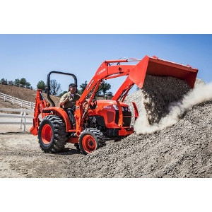Compact Tractor with Front End Loader &