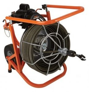 100' Electric drain snake/sewer auger