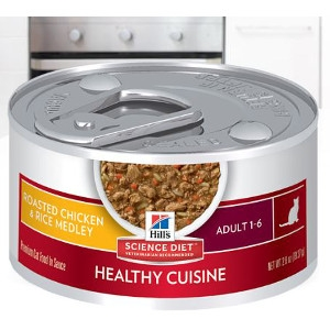 Hill's Science Diet Adult Healthy Cuisine Roasted Chicken & Rice Medley