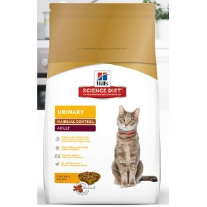 Hills Science Diet Adult Urinary Hairball Control