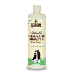 Natural Flea & Tick Shampoo for Dogs 16.9 oz