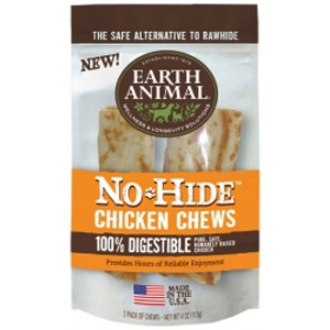 Earth Animal No-Hide Chicken Chews Dog Treats