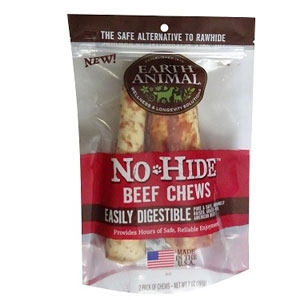 Earth Animal No-Hide Beef Chews Dog Treats