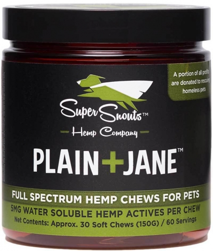 Super Snout Plain Jane Hemp Chews