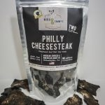 Mika and Sammy's Dehydrated Jerky Treats Philly Cheesesteak