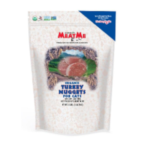 MeatMe Organic Turkey Nuggets for Cats
