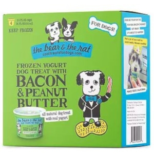 The Bear and The Rat Frozen Yogurt Bacon and Peanut Butter