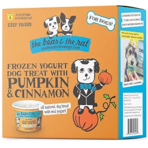 The Bear and The Rat Frozen Yogurt Pumpkin and Cinnamon