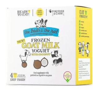 The Bear and The Rat Frozen Goat Milk With Coconut
