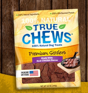 Tyson True Chews Sizzlers with Chicken Bacon Dog Treats