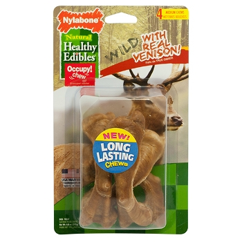 Healthy Edibles Wild Venison Dog Chews