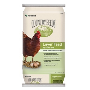 Nutrena Country Feeds Layer 16% Feed Pellets