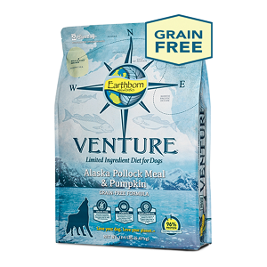 Earthborn Holistic® Venture™ Alaska Pollock Meal & Pumpkin Limited Ingredient Diet for Dogs
