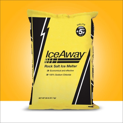 IceAway® Rock Salt Ice Melter