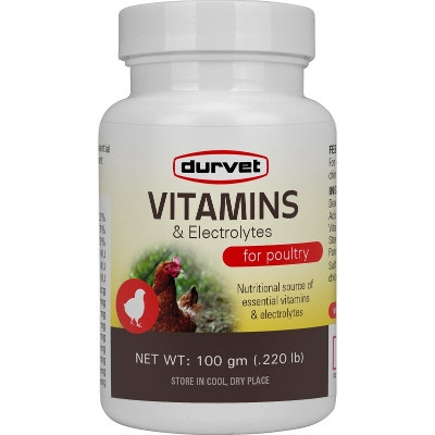 Vitamins & Electrolytes 100 gm for Poultry