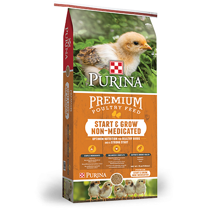 Purina® Start & Grow® Non-Medicated Chick Feed