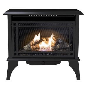 Kozy World Dual Fuel Vent-Free Gas Stove