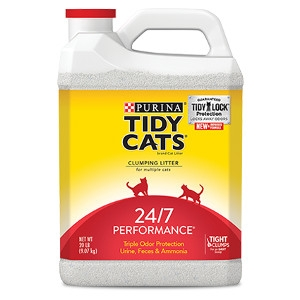 Tiday Cats 24/7 Performance Odor Control Cat Litter 20 lb. Jug