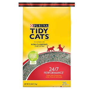 Tidy Cats 24/7 Performance Non-Clumping Cat Litter 20 lb. Bag