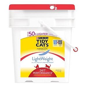 Tidy Cats 24/7 Performance LightWeight Cat Litter 17 lb. Pail