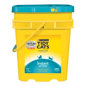 Tidy Cats Instant Action Non-Clumping Cat Litter 27 lb. Pail