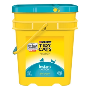 Tidy Cats Instant Action Non-Clumping Cat Litter 35 lb. Pail